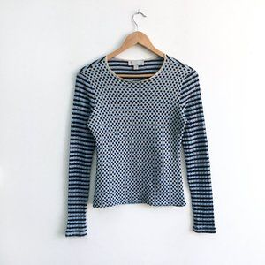 M Missoni patterned wool jumper - size 8